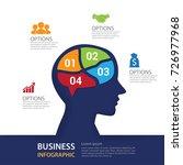 modern infographic business...   Shutterstock .eps vector #726977968