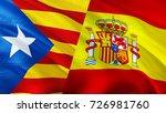 referendum catalonia and spain... | Shutterstock . vector #726981760