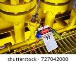 gas process valve isolation... | Shutterstock . vector #727042000