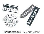 initial letter premium design... | Shutterstock .eps vector #727042240