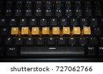 black keyboard with the word ...   Shutterstock . vector #727062766