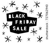 black friday sale event theme.... | Shutterstock .eps vector #727062940