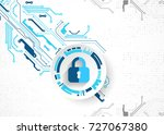 protection concept. protect... | Shutterstock .eps vector #727067380