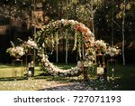 wedding. wedding ceremony. arch....