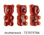 world's largest gummy bears. ... | Shutterstock . vector #727075786