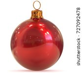 Christmas Ball Decoration Red...