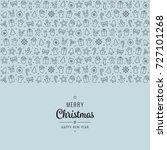 christmas lettering element...   Shutterstock .eps vector #727101268