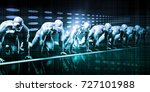 system integration with... | Shutterstock . vector #727101988