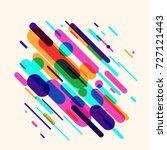 vector illustration of dynamic... | Shutterstock .eps vector #727121443