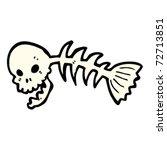 Laughing Skull Fish Skeleton...