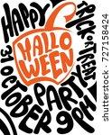 handwritten poster for... | Shutterstock .eps vector #727158424