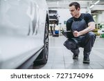 Handsome Mechanic In Uniform I...