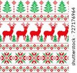 new year's christmas pattern... | Shutterstock .eps vector #727176964