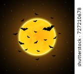 halloween festival and...   Shutterstock .eps vector #727210678