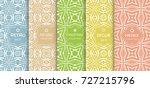 seamless line pattern...   Shutterstock .eps vector #727215796