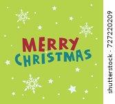 christmas card   Shutterstock .eps vector #727220209