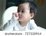 1 year old asian toddler boy... | Shutterstock . vector #727220914