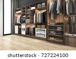 3d rendering minimal... | Shutterstock . vector #727224100
