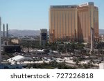 view of the mandalay bay resort ... | Shutterstock . vector #727226818