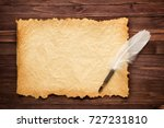texture old paper and white... | Shutterstock . vector #727231810