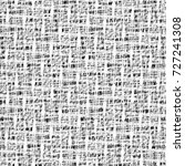 plaid fabric in black and white.... | Shutterstock .eps vector #727241308