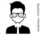 businessman avatar character...