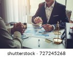 business lawyer working about...   Shutterstock . vector #727245268