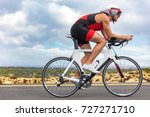 cycling sport athlete man... | Shutterstock . vector #727271710