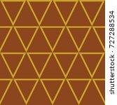 triangle pattern design ... | Shutterstock .eps vector #727288534