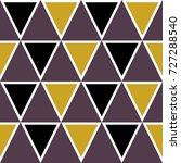 triangle pattern design ... | Shutterstock .eps vector #727288540