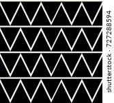 triangle pattern design ... | Shutterstock .eps vector #727288594