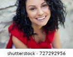 beautiful woman | Shutterstock . vector #727292956