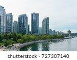 vancouver  canada   september... | Shutterstock . vector #727307140