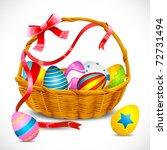 Illustration Of Basket Full Of...