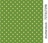 polka dot seamless pattern.... | Shutterstock .eps vector #727317298