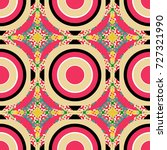seamless geometric vector... | Shutterstock .eps vector #727321990