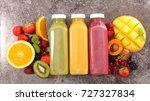 fruit smoothie fruit juice | Shutterstock . vector #727327834