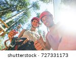 boyfriend and girlfriend couple ... | Shutterstock . vector #727331173