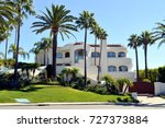 luxury villas and estates with ... | Shutterstock . vector #727373884