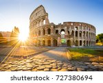 Colosseum Sunrise Rome Italy Europe - Fine Art prints