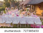 bridal shower or baby shower... | Shutterstock . vector #727385653