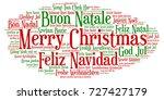 Words Cloud  Merry Christmas I...