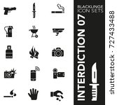 high quality black and white...   Shutterstock .eps vector #727433488