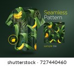 bright tropical seamless... | Shutterstock .eps vector #727440460