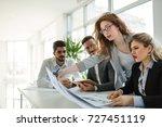 business meeting and teamwork... | Shutterstock . vector #727451119