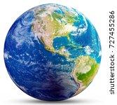 planet earth   america....   Shutterstock . vector #727455286