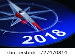 3d rendering of an compass with ...   Shutterstock . vector #727470814