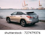 riga  april 2016   a lexus... | Shutterstock . vector #727479376