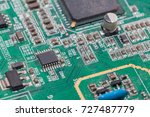 print circuit board of graphic... | Shutterstock . vector #727487779