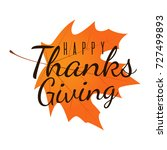 thanksgiving day background... | Shutterstock . vector #727499893